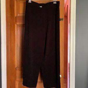 XL petite elastic waist pants
